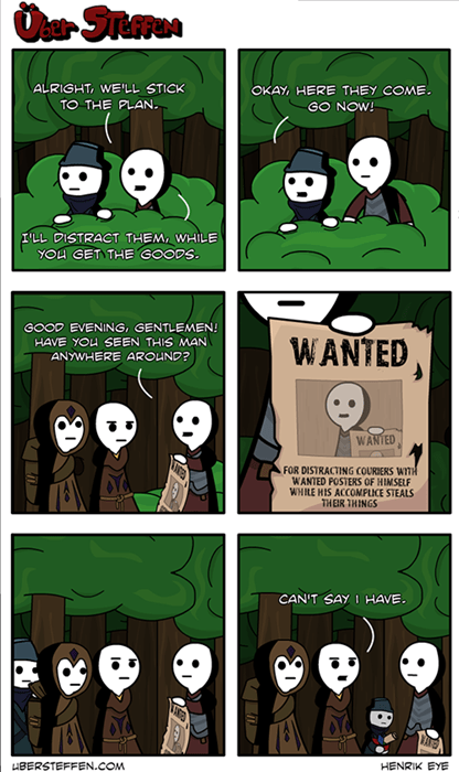 old times clever robbery web comics - 8102548480