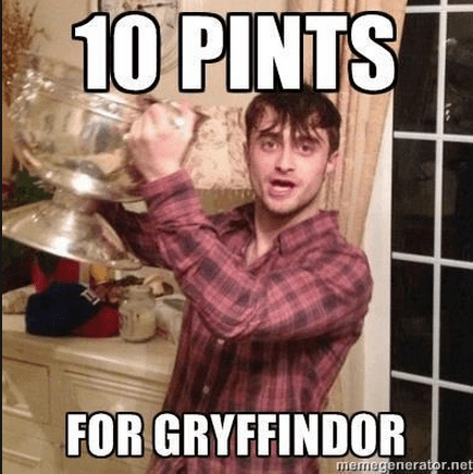 Harry Potter drunk pint glass funny after 12 g rated - 8102551552