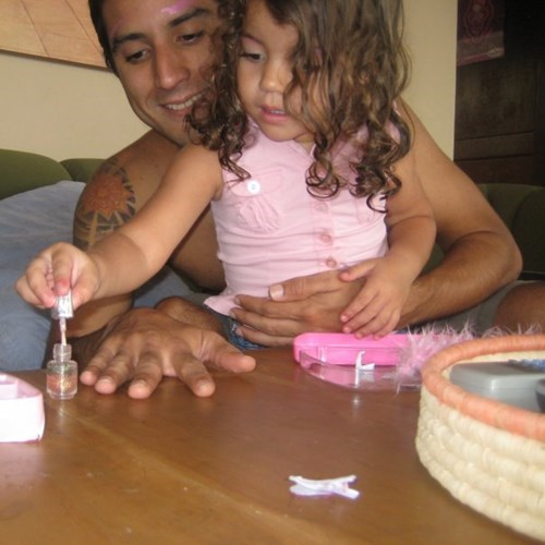 nail polish kids parenting dad daughter - 8102623744