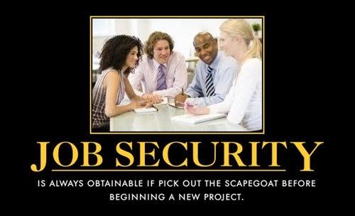 work idiots scapegoat funny