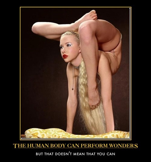 flexible Sexy Ladies human body funny - 8102684672