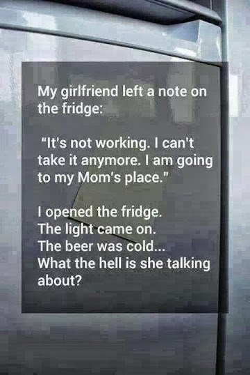 obvious girlfriend fridge notes funny dating g rated - 8102709504