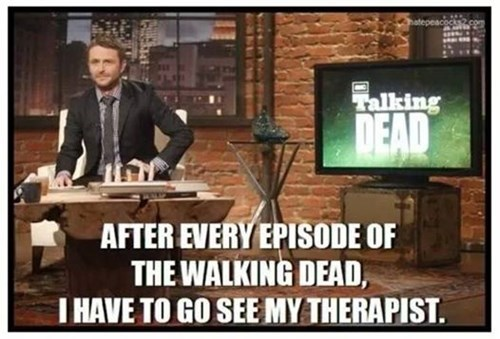 therapist chris hardwick talking dead