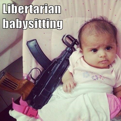 Libertarian babysitting