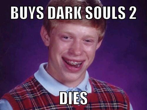 bad luck brian dark souls 2 Memes - 8103363328