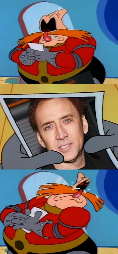 sonic the hedgehog nicolas cage cartoons - 8103642112