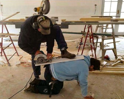 monday thru friday work construction power tools