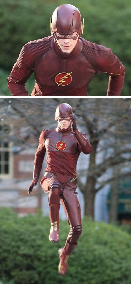 costume the flash grant gustin - 8103760128