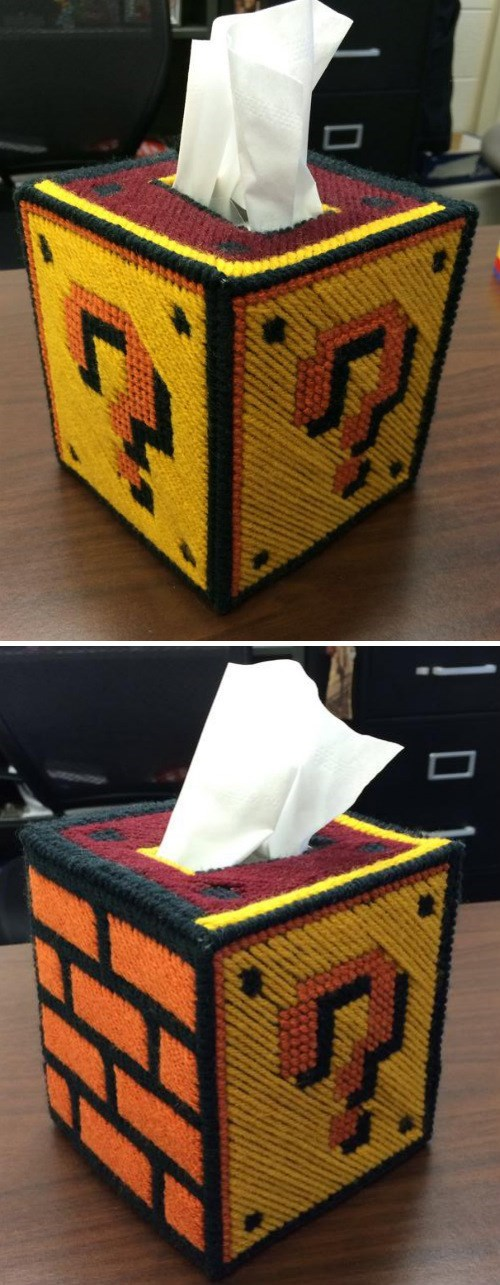 tissues,crafts,Super Mario bros