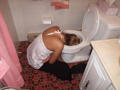 puke drunk toilet funny - 8103778304