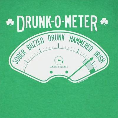 drunk St Patrick's Day irish meter after 12 - 8103790336