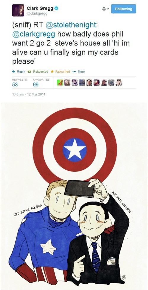 agent coulson,captain america,agents of shield