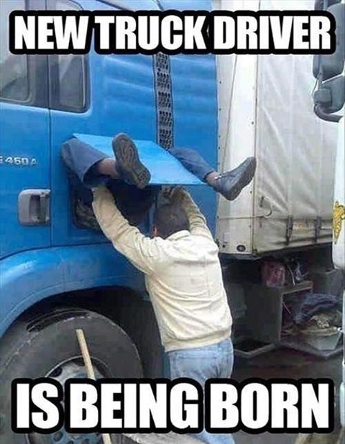 truck drivers,trucks