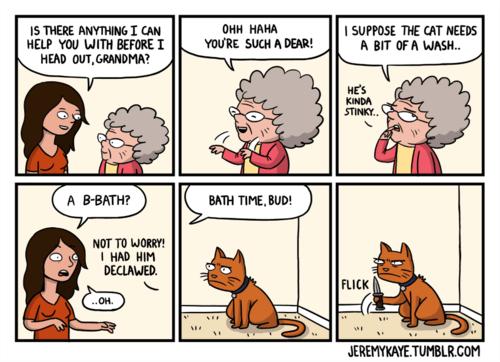 knives baths Cats web comics - 8103880960