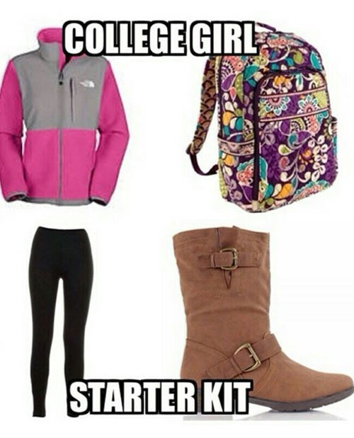 Starbucks,uggs,college girls,college