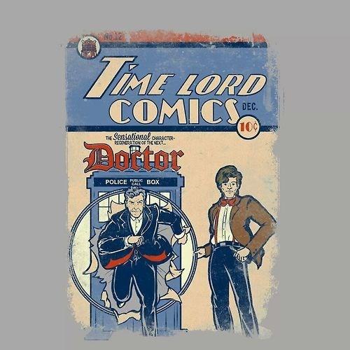 comic books tshirts 11th Doctor - 8103988992