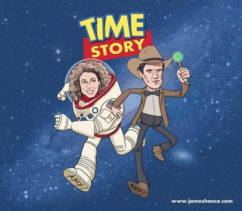 Fan Art,toy story,11th Doctor,River Song
