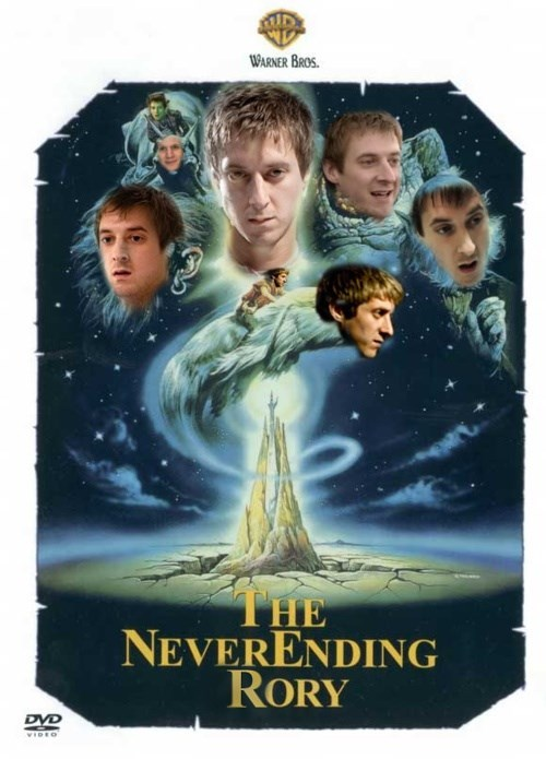 rory williams,mashup,neverending story