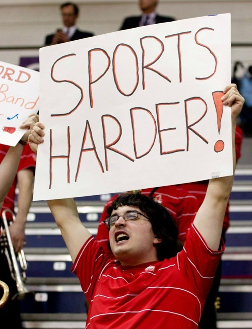 sports,sports signs,audience signs