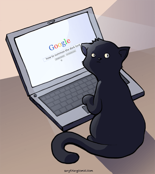 sad but true Cats google web comics - 8104192768