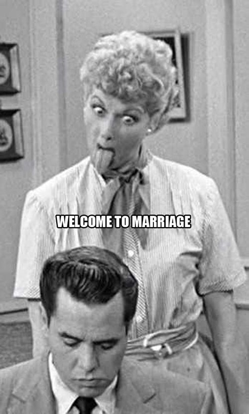 marriage TV i love lucy funny