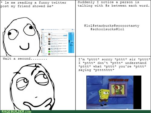 twitter,SpongeBob SquarePants,hashtags