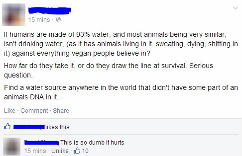 vegans facepalm failbook g rated - 8104595968