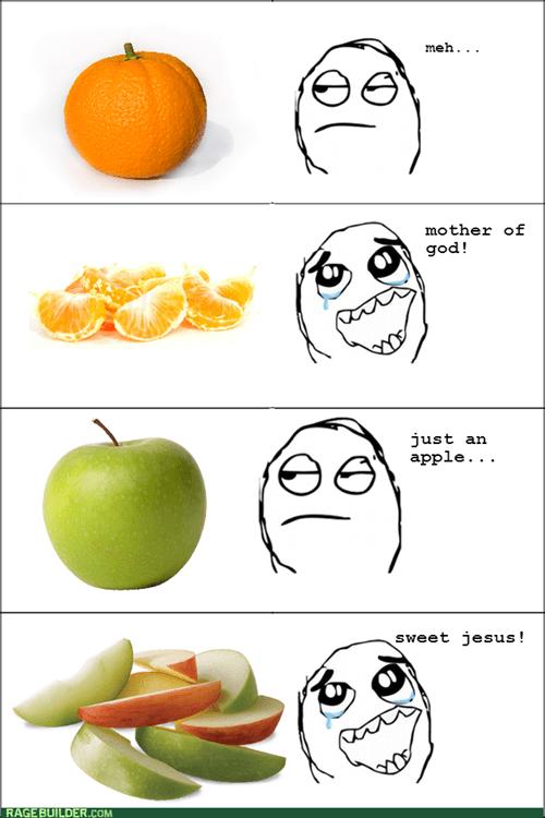 effort lazy oranges apples fruit - 8104746496