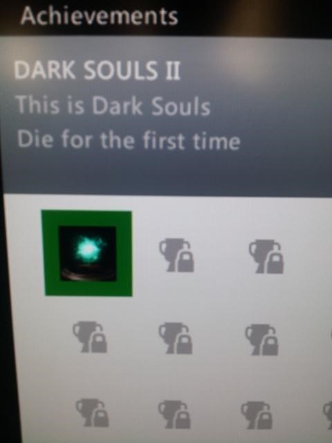 dark souls II,achievements