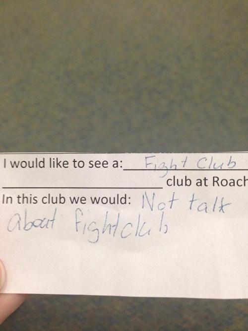 kids funny fight club - 8105082112