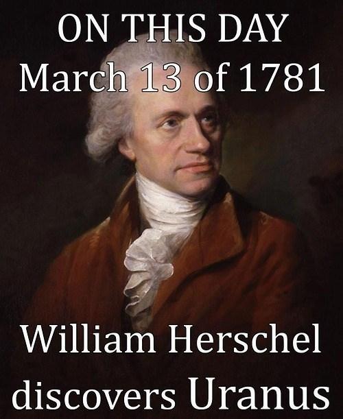 william herschel science funny uranus - 8105134080