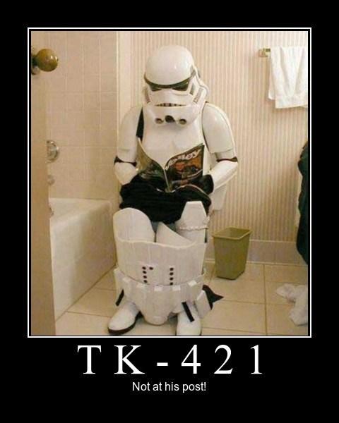 poop star wars stormtrooper funny - 8105200384