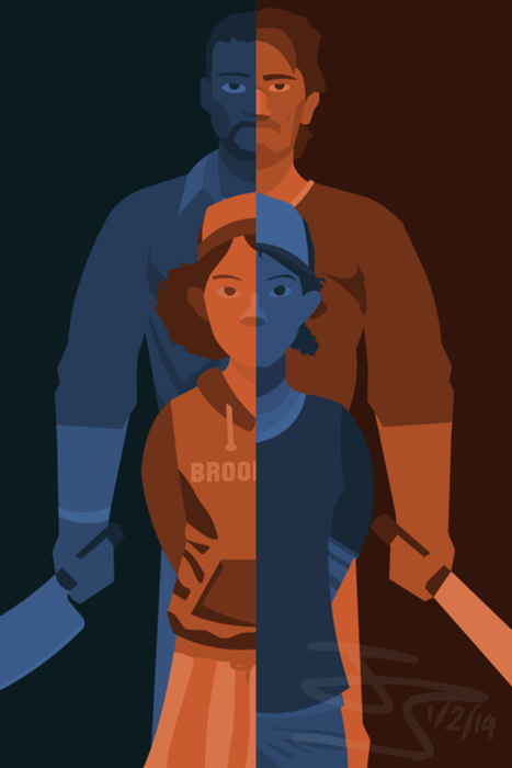 Fan Art telltale games clementine - 8105283840