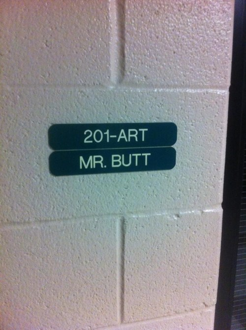 butt wtf teacher funny name - 8105292544