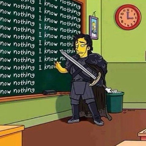 Game of Thrones cartoons the simpsons - 8105332736