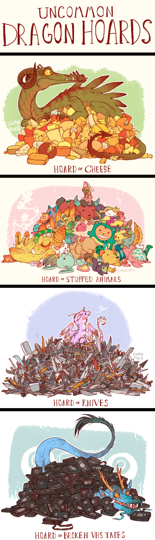 Fan Art cute dragons - 8105340928