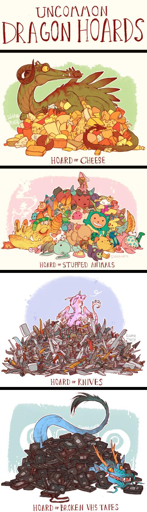 Fan Art cute dragons - 8105340928