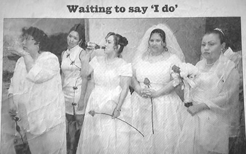 beer bride wedding - 8105359104