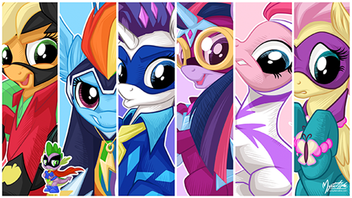 mane 6 convention MLP - 8105393664
