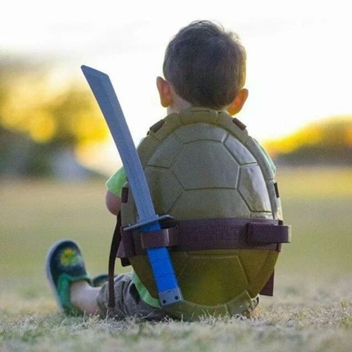 costume,teenage mutant ninja turtles,baby,TMNT,parenting