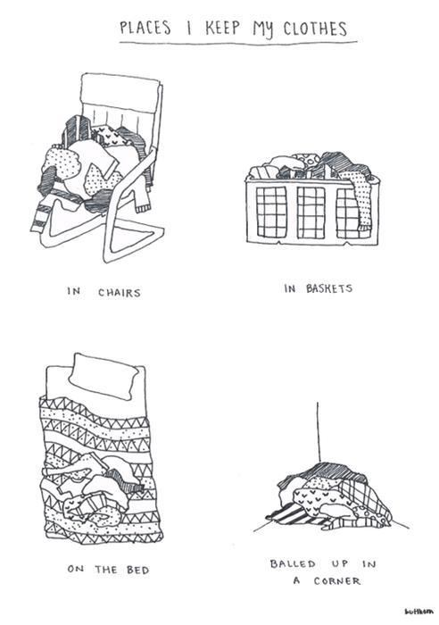 lazy sad but true clothes web comics - 8105428736