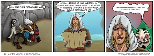 tingle assassins creed web comics - 8105450752