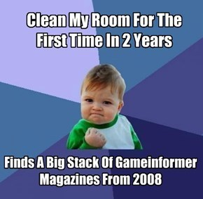 Memes,success kid,magazines,game informer