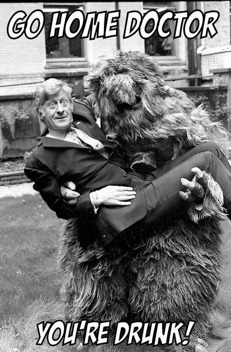 go home you're drunk classic who 3rd doctor jon pertwee - 8105498368