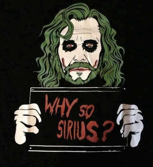 the joker tshirts puns sirius black - 8105507328