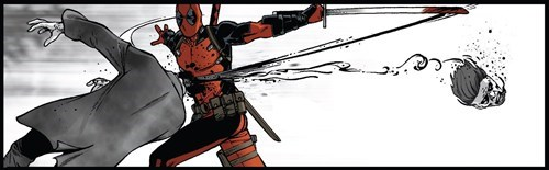 deadpool Straight off the Page - 8105803264
