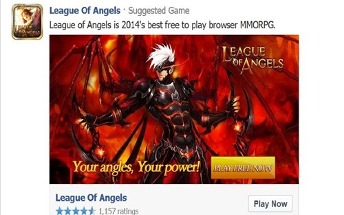 advertisement typo facebook game facebook spelling
