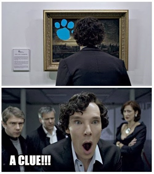 Sherlock blues clues - 8105855232