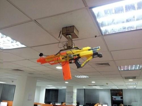 Nerf Photo workplace sentry guns - 8106256384