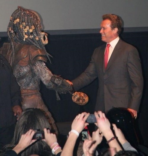 Predator Arnold Schwarzenegger - 8106279680